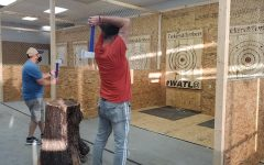 "Local entertainment center Tickers and Timbers, known for its axe-throwing booths and escape rooms, is preparing for new events and additions to the business, including spring and summer axe-throwing leagues and a blacklight ""paint splatter"" room."