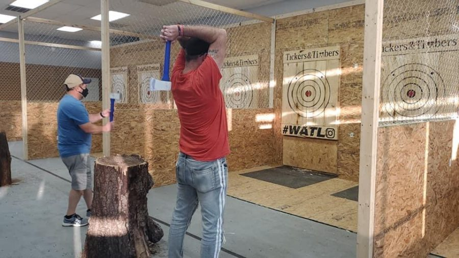 Local+entertainment+center+Tickers+and+Timbers%2C+known+for+its+axe-throwing+booths+and+escape+rooms%2C+is+preparing+for+new+events+and+additions+to+the+business%2C+including+spring+and+summer+axe-throwing+leagues+and+a+blacklight+%E2%80%9Cpaint+splatter%E2%80%9D+room.%E2%80%AF+