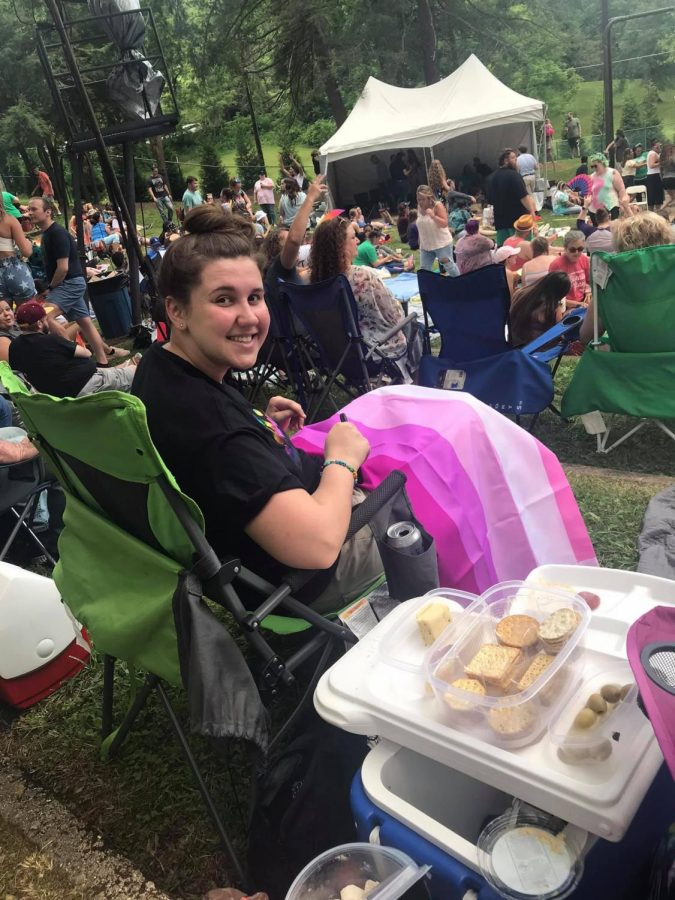 Huntington Pride's first live event since February 2020 brought the community together. | Courtesy Laura Kilgore Clark