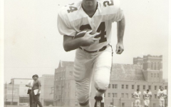 Kevin Gilmore practicing as Marshall University running back, 1970. | Photo Courtesy of Anita and John Gilmore.
