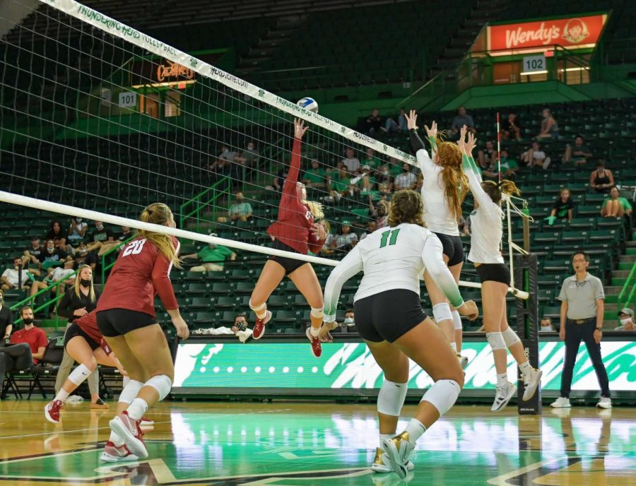 Thundering Herd Womens Volleyball Game
