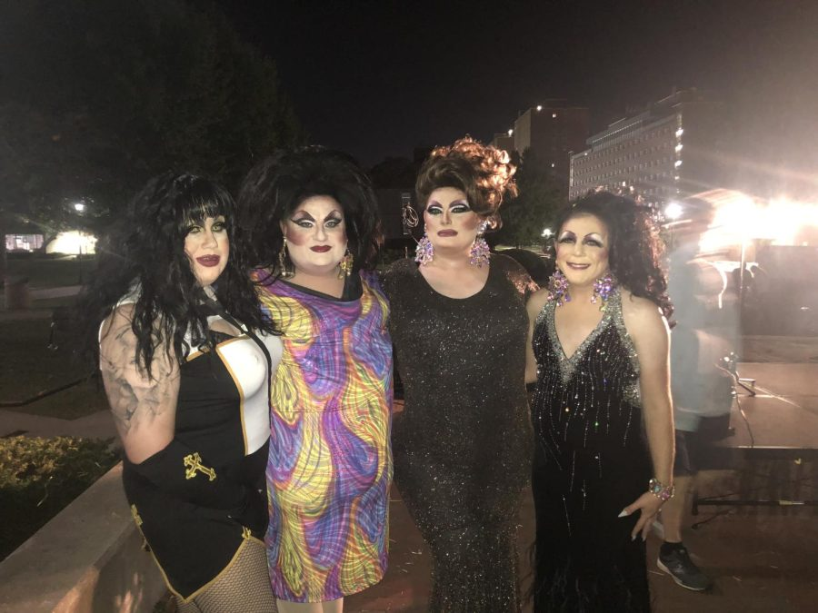 Drag Queens Perform in support of Cancer Awareness